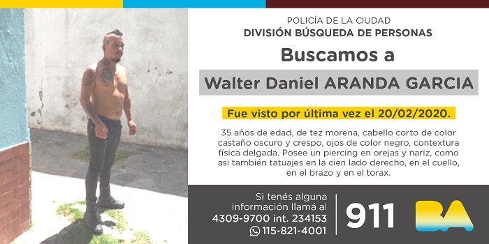 BUSCAN A WALTER