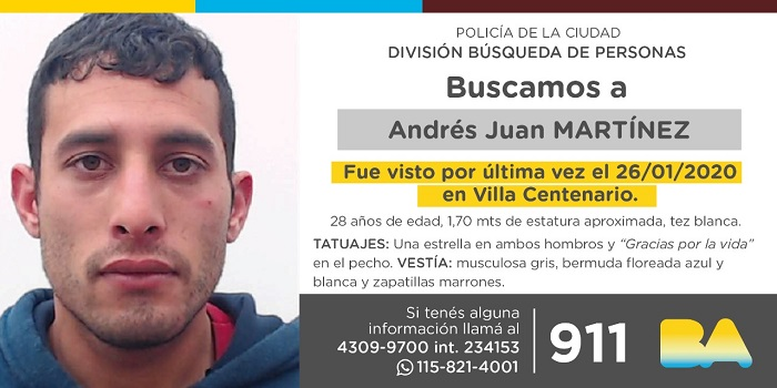 BUSCAN A ANDRES