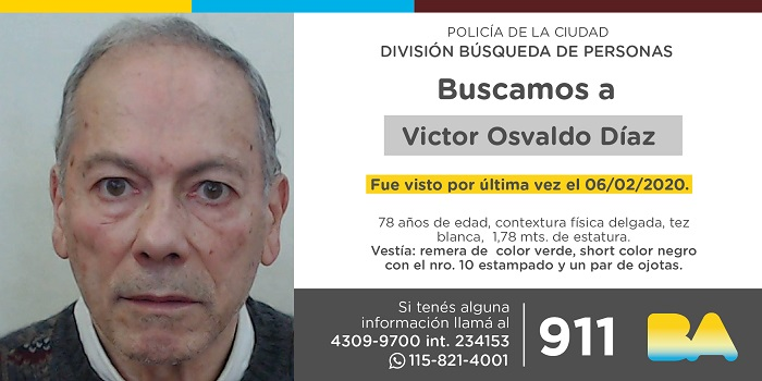 BUSCAN A VICTOR