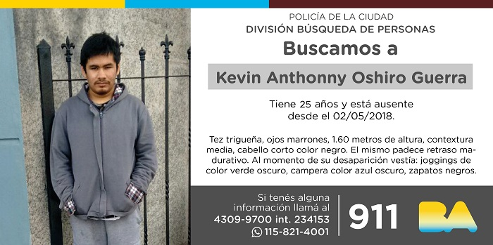 BUSCAN A KEVIN