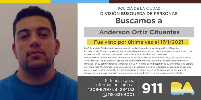 BUSCAN A ANDERSON
