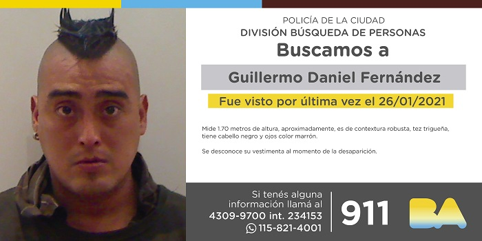 BUSCAN A GUILLERMO
