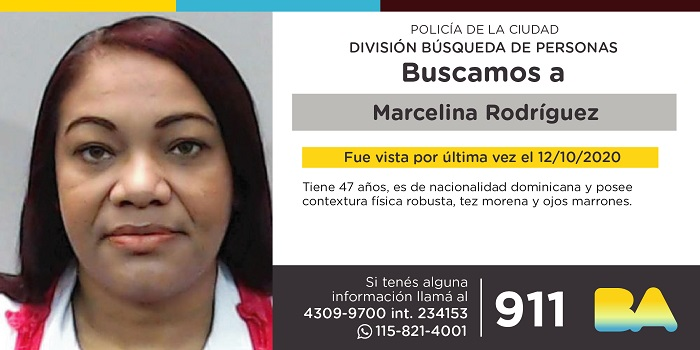BUSCAN A MARCELINA